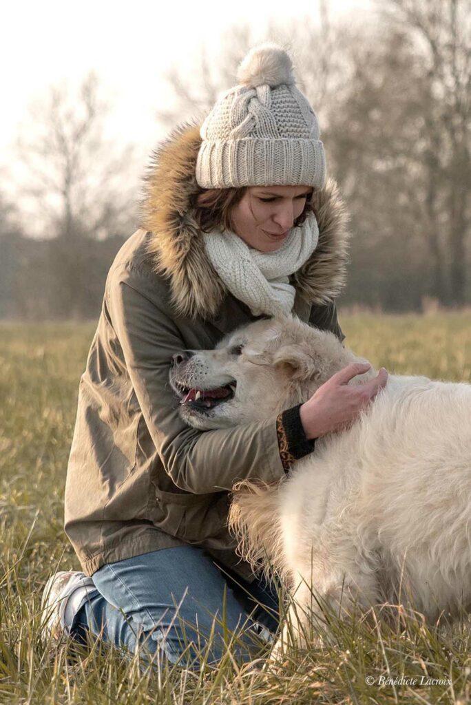 photographe clisson maitresse et chien