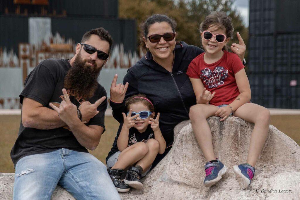 photo famille hellfest 2020