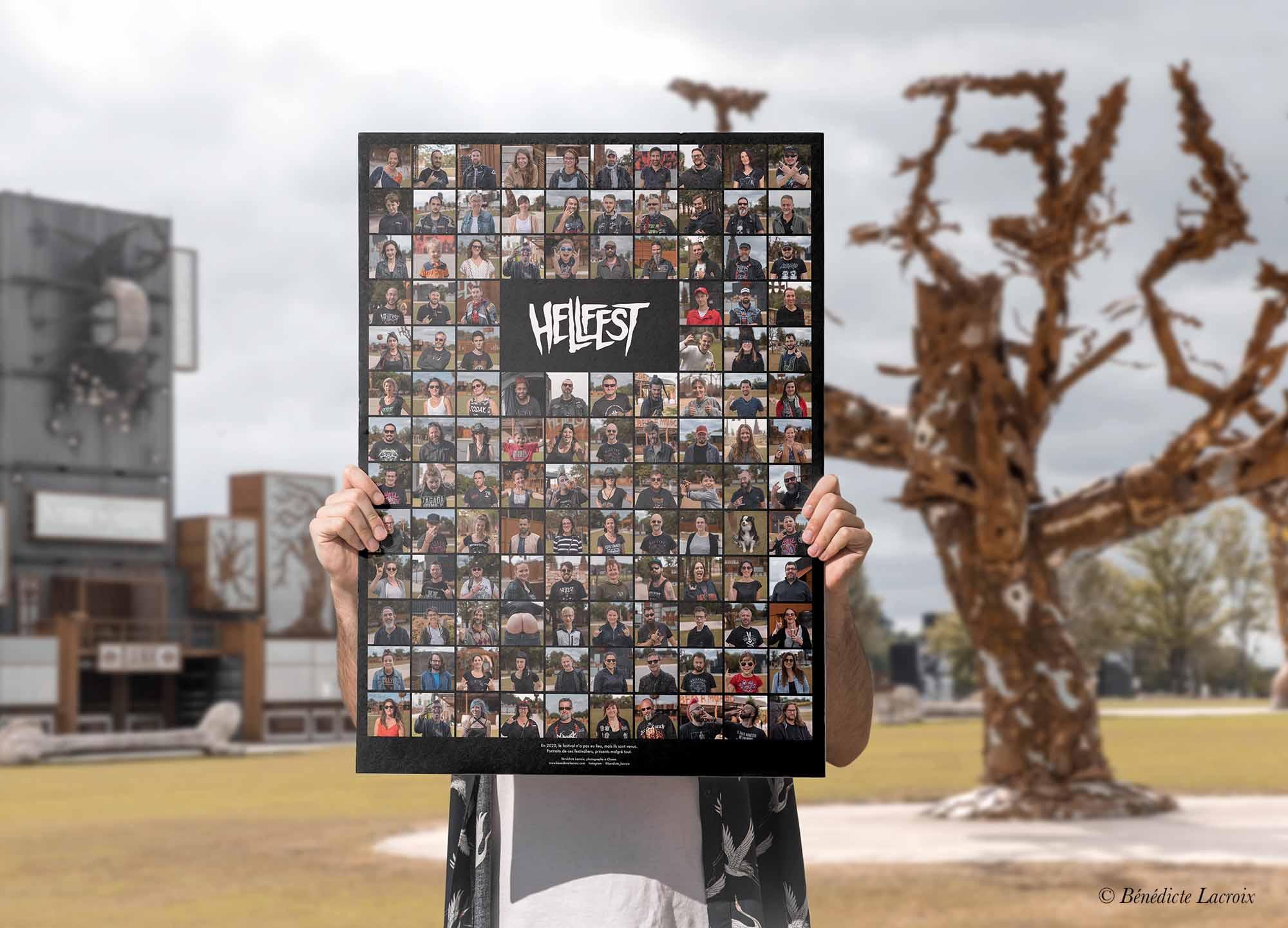 Reportage photo festival Hellfest 2020