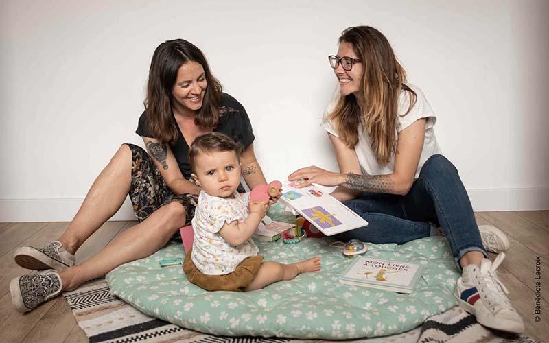 Rezé, un reportage photo famille à domicile