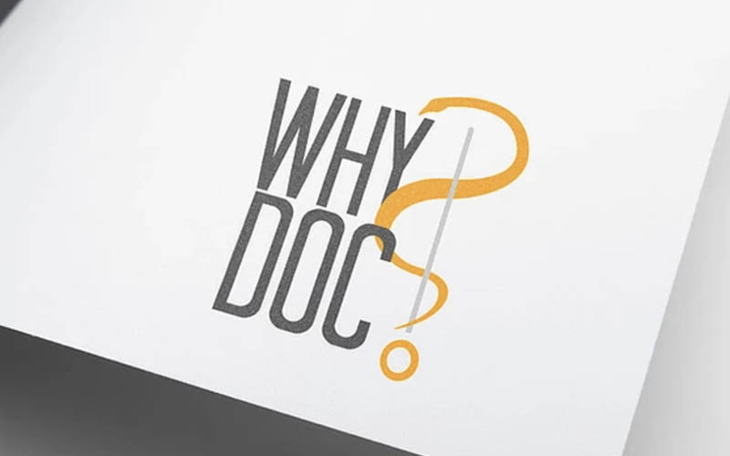 WhyDoc, un logo sur-mesure